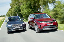 Land Rover Discovery/Volvo XC90: Test
