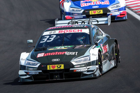 dtm audi doppelsieg in ungarn rast feiert ersten dtm sieg. Black Bedroom Furniture Sets. Home Design Ideas