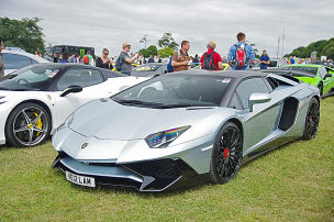 Carspotting in Goodwood