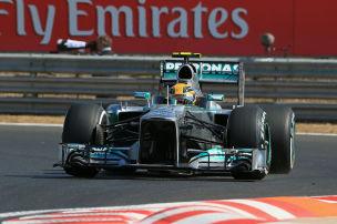 Hamiltons F1-Mercedes zu verkaufen