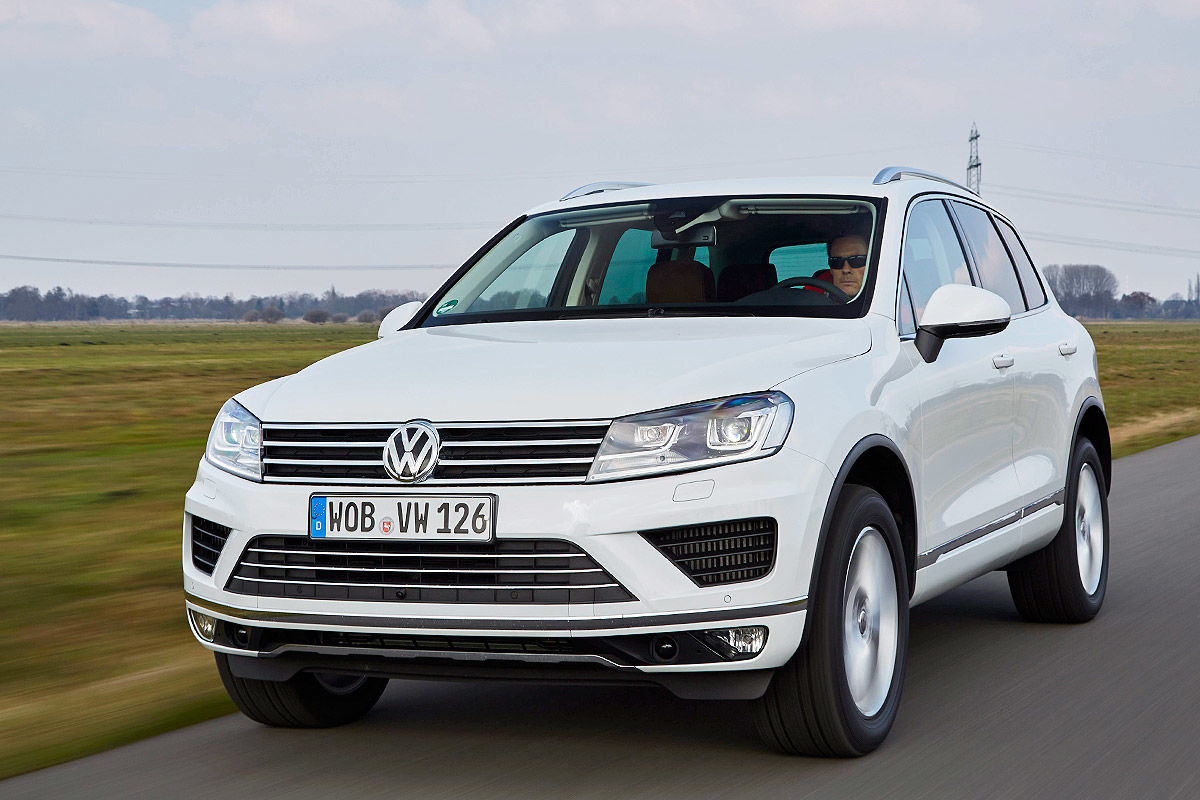 gebrauchtwagen test vw touareg ii bilder. Black Bedroom Furniture Sets. Home Design Ideas