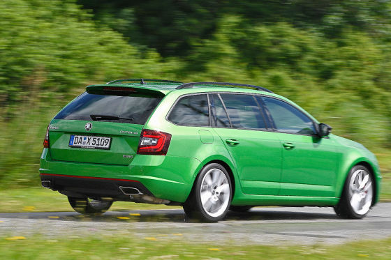 schneller tscheche skoda octavia rs combi im test. Black Bedroom Furniture Sets. Home Design Ideas