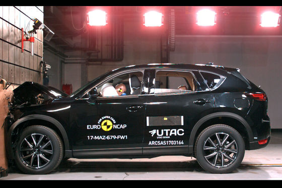 Euro NCAP Crashtest: August 2017