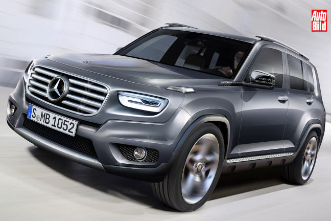 Video: Mercedes-Benz GLB (2019) - autobild.de