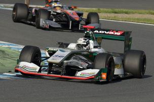 Lotterer Leader in superschneller Formel-Serie