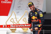 Ricciardo röhrt: Kämpfen und Schnitzel