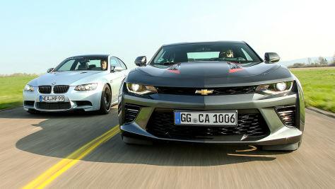 Neuer Chevrolet Camaro gegen gebrauchten BMW M3: Test