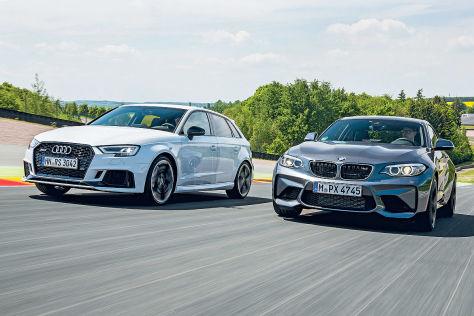 Audi RS 3 BMW M2