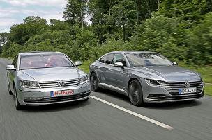 VW Arteon/VW Phaeton: Vergleich