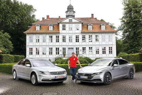 VW Arteon VW Phaeton
