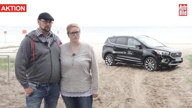Mit Ford an die Küste