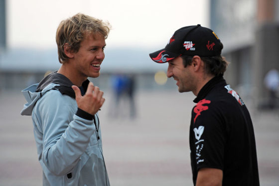 Interview mit Vettel