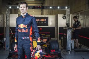 Rallye-Weltmeister im Vettel-Renner