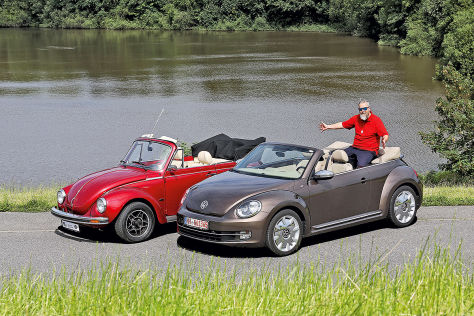 vw beetle cabriolet gebrauchtwagen test. Black Bedroom Furniture Sets. Home Design Ideas