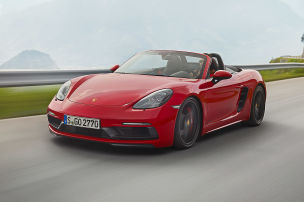 Boxster GTS mit 365 PS