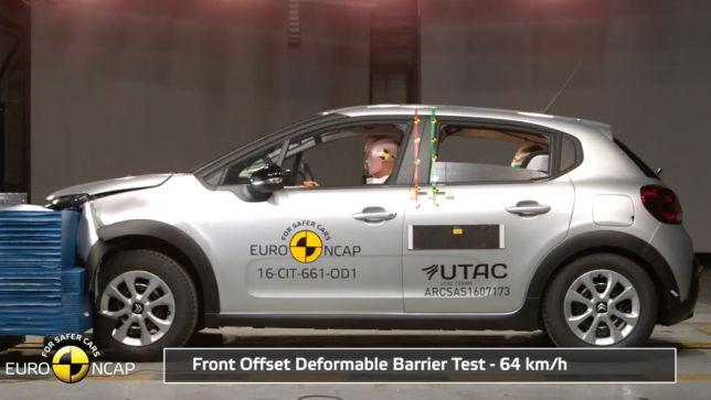 Vier Sterne für den Citroën
