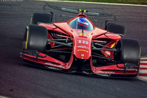 Formel 1: Konzeptauto für 2025