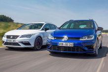VW Golf/Skoda Octavia/Ford Focus/Seat Leon/Audi S3: Vergleich