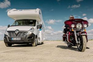 Ahorn Camp 660 Eco/Harley-Davidson E-Glide: Test