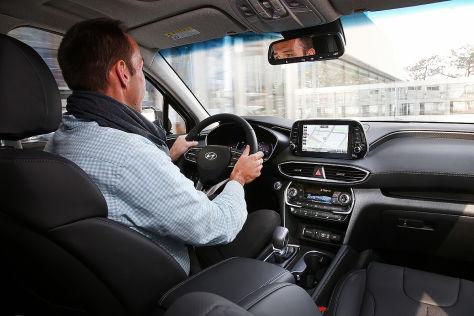Hyundai Santa Fe 2018 Test Preis Ausstattung Motoren Autobild De