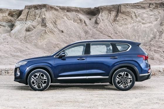 Neuer Hyundai Santa Fe gesichtet!