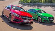 Audi gegen Mercedes-AMG: Test