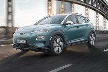 Hyundai Kona EV (2018): Erlkönig
