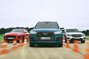 Audi SQ5/Mercedes-AMG GLC 43/Porsche Macan: Test