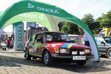 Check-in zur Rallye