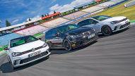 Drei getunte VW Golf GTI Clubsport: Test