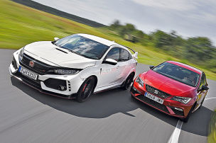 Honda Civic Type R/Seat Leon Cupra: Test