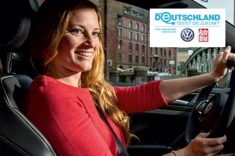 Rebecca Schirge testete einen Plug-in-Hybrid