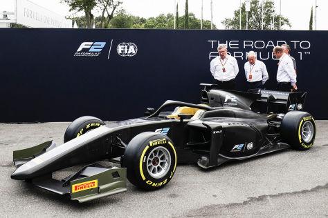 Formel 2: Der Renner für 2018