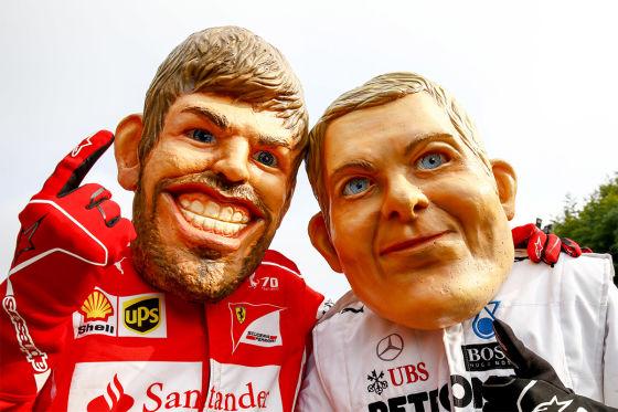 Ferrari vs. Mercedes