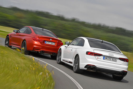 Audi RS 5 BMW M4 Competiton