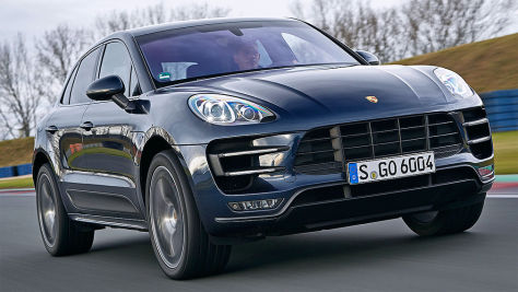 Porsche Macan Turbo PP: Test