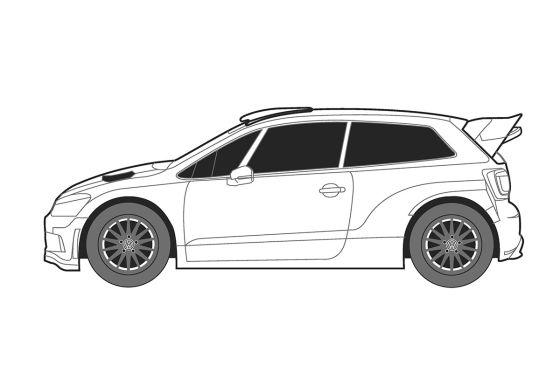 Design für den Rallycross-Polo gesucht