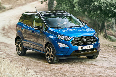 Ford EcoSport (2018): erste Bilder, Technik