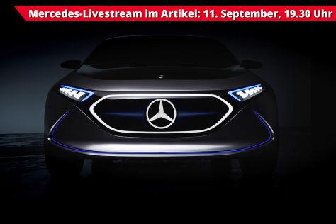 Mercedes Livestream von der IAA 2017