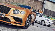 Bentley Continental Supersports trifft VW Up: Test