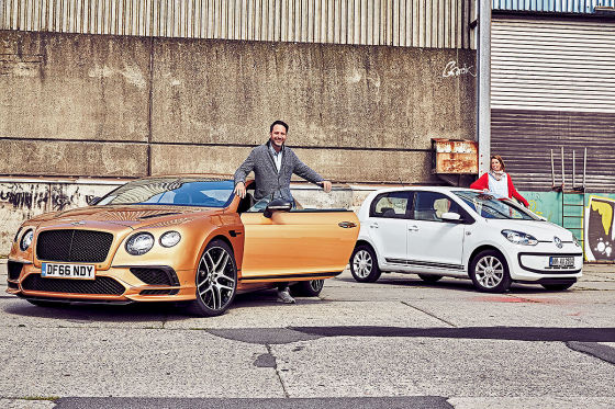 Bentley Continental Supersports VW Up