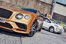 Bentley Continental Supersports trifft VW Up: Vergleich