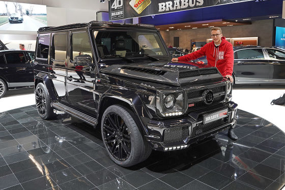 brabus 900 one of ten 2017 mercedes g klasse ps. Black Bedroom Furniture Sets. Home Design Ideas
