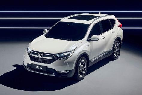 Honda CR-V Hybrid Prototyp (2017): Erste Bilder und Infos