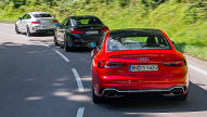 Audi RS 5/BMW M4/Mercedes-AMG C 63: Test