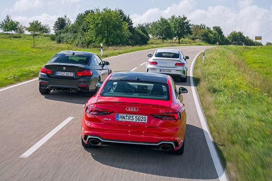 Audi RS 5 BMW M4 Mercedes-AMG C 63
