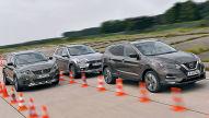 Peugeot 3008/Mitsubishi ASX/Nissan Qashqai: Test
