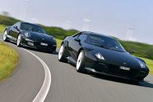 New Stratos/Porsche 911 R: Test
