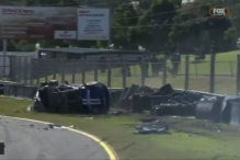 V8 Supercars: Crash im Video