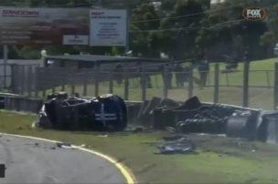 V8 Supercars: Crash im Video
